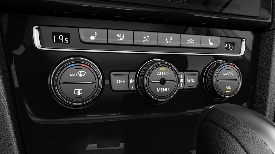 2018 Golf climate control