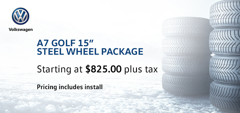A7 Golf 15s Steel Winter Tire Offer