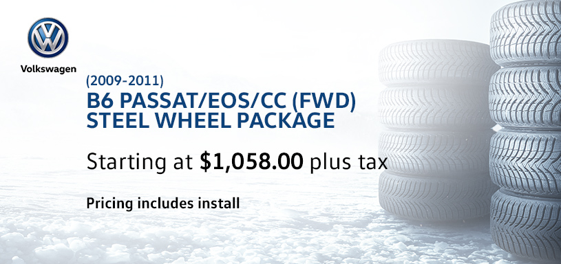 B6 Passat EOS CC Winter Tire Offer