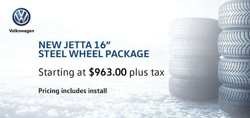 New Jetta 16s steel Winter Tire Offer