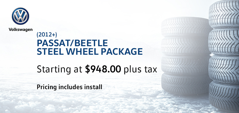 Passat Beetle Winter Tire Offer