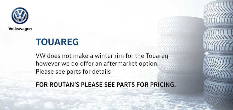 Touareg Winter Tire Offer